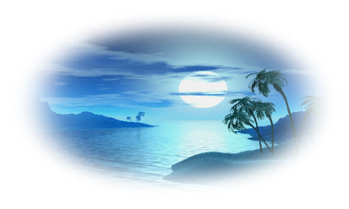 Tubes ou images paysages tons bleux